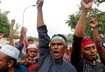 Manifestation de soutien aux Rohingyas