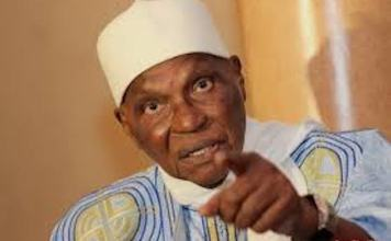 Abdoulaye Wade et l'AIBD