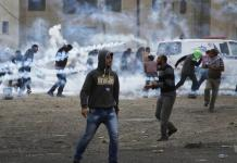 Heurts entre manifestants palestiniens et l'armée israélienne
