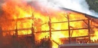 Un incendie à Daga Balla près de Birkelane