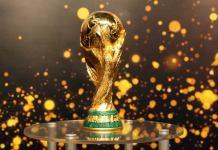 Le trophée de la Coupe du monde