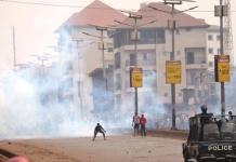 Un mort dans Conakry ville morte