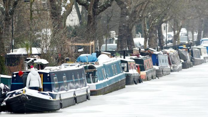 Des températures polaires sévissent en Europe