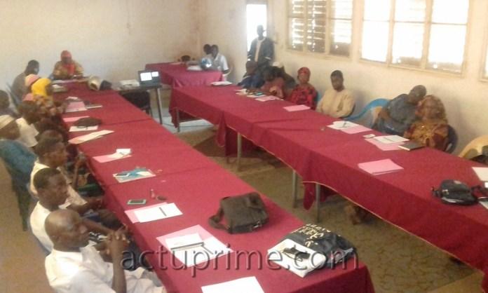 Partage sur les Assises nationales de l'éducation à Kédougou