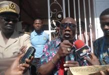 La marche pacifique des enseignants à Kédougou