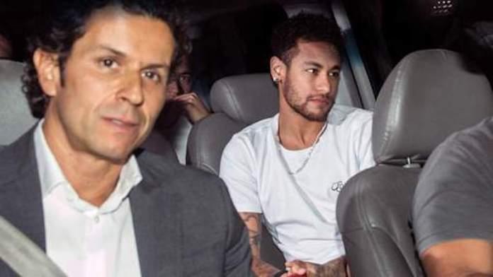 Neymar à l'hôpital pour se faire opérer