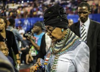 Décès de Winnie Mandela