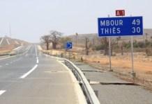 La réalisation de l'autoroute Mbour-Fatick-Kaolack