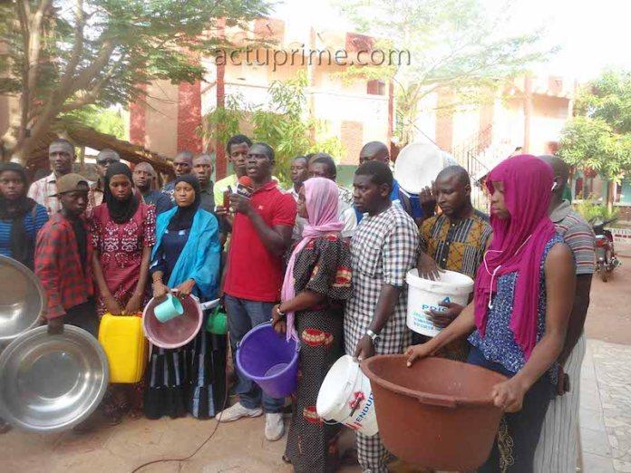 Pénurie d'eau à Kédougou