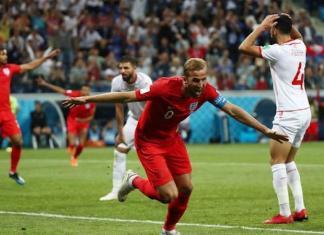 L'Angleterre bat la Tunisie