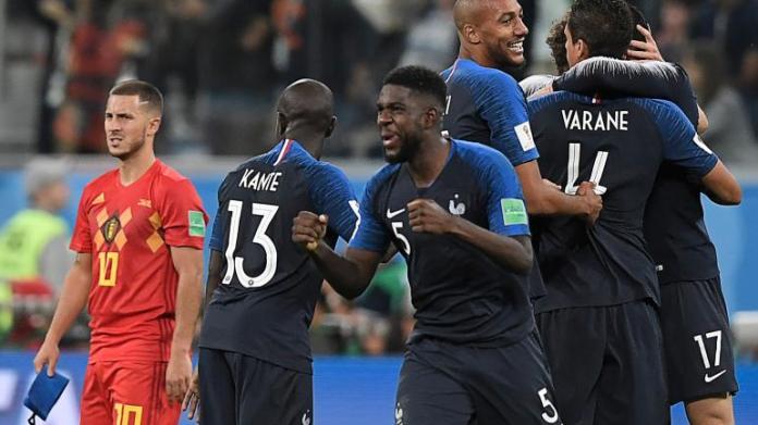 La France en demie finale de la Coupe du Monde