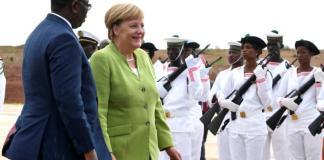 Angela Merkel à Dakar