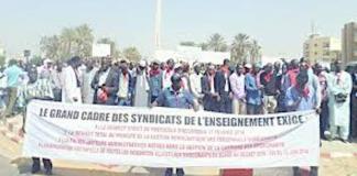 Un préavis de grève du Grand Cadre