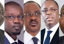 Les cinq candidats à la présidentielle dans le centre, le nord, l'est et la petite côte