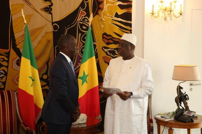 Démission du Premier ministre Mahammed Boune Abdallah Dionne