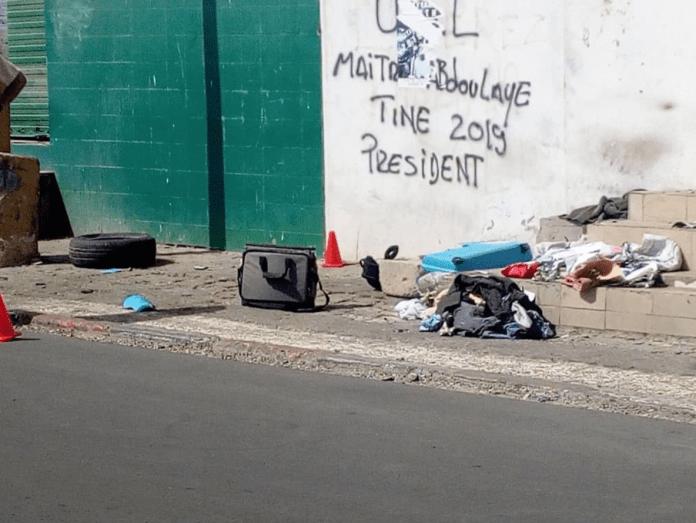 La police fait exploser une valise suspecte au centre de Dakar
