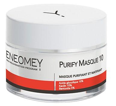 Masque purifiant et matifiant. Votre grain de peau est affiné et vos pores sont resserrés.