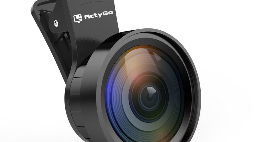 ActyGo (高品質HD0.45x広角レンズ+12.5xマクロレンズセット) 正規品