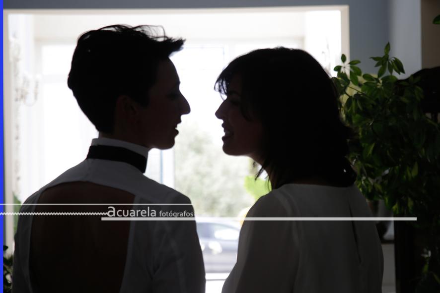 Lala y Cristina; Una boda de dos amigas