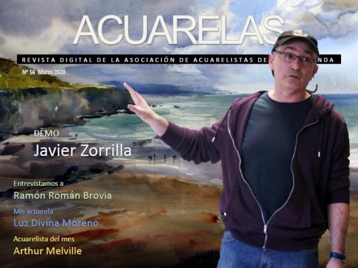 Ya está disponible el número 57 de la Revista Acuarelas, correspondiente al mes de abril de 2020.  Esperamos que disfrutes de sus contenidos.