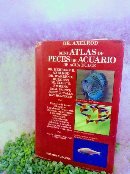 MINI ATLAS DE PECES DE ACUARIO DE AGUA DULCE