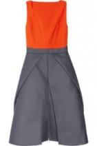 Antonia-Berardi-Colour-block-woven-dress