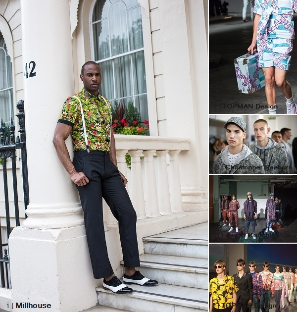 Millhouse PRINT PATTERN LCM2014 SS15 Collage