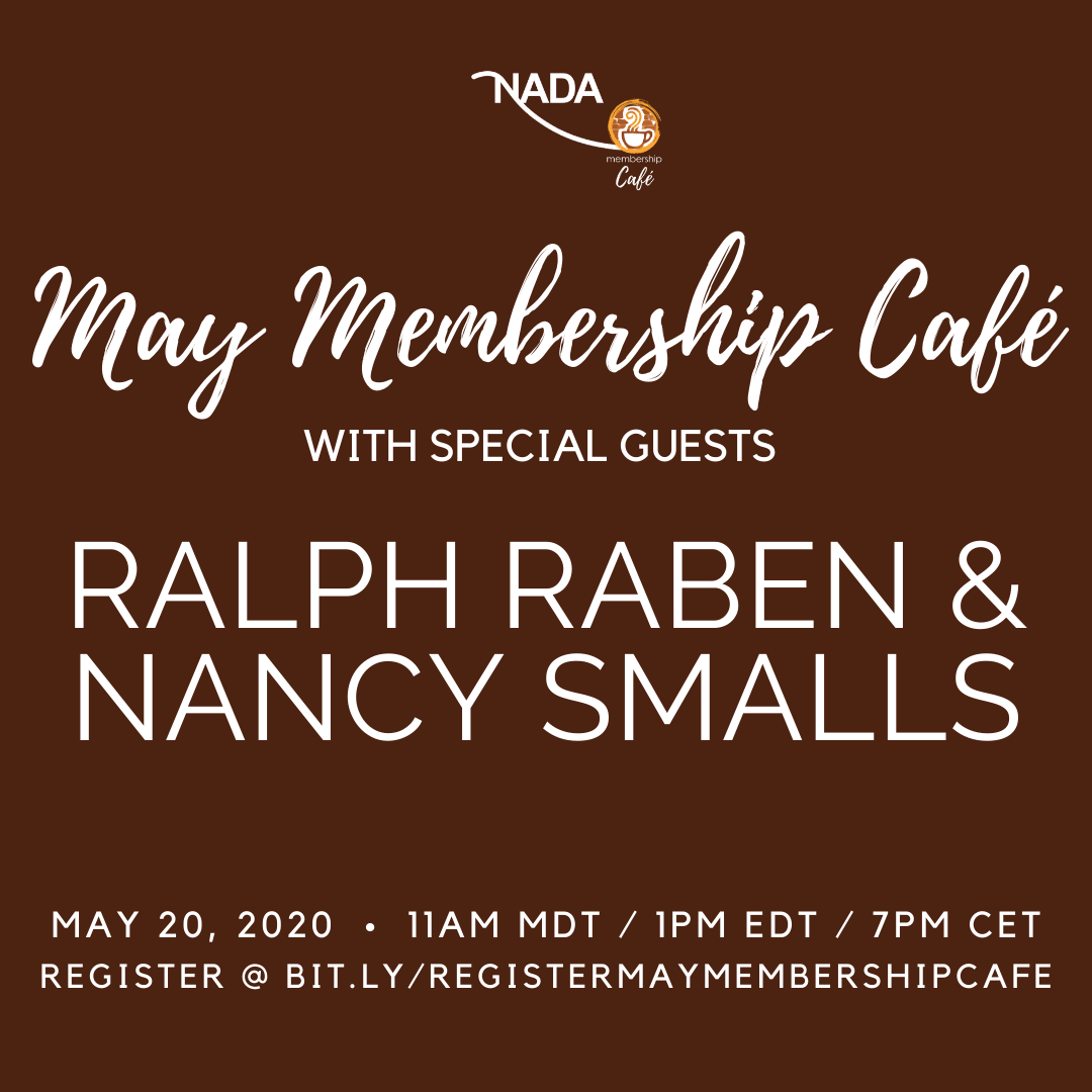 May Membership Café with Ralph Raben & Nancy Smalls