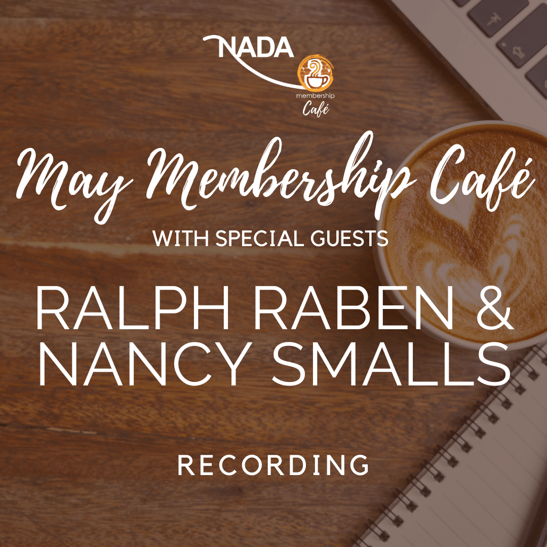 May Membership Café with Ralph & Nancy (Recording)