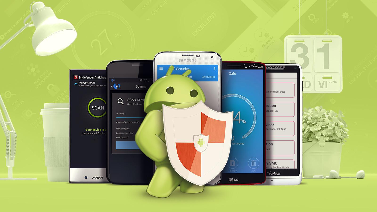 Los 5 mejores antivirus para Android 2017