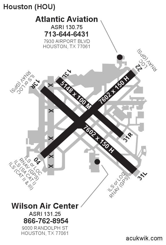 KHOU/William P Hobby General Airport Information