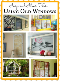 Inspired Ways To Use Old Windows