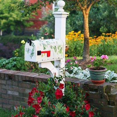 Adding Curb Appeal With Mailbox Gardens A Cultivated Nest