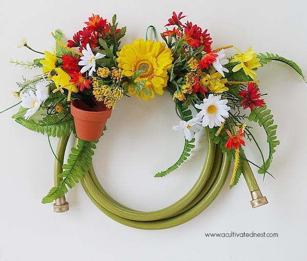 My Garden Hose Wreath