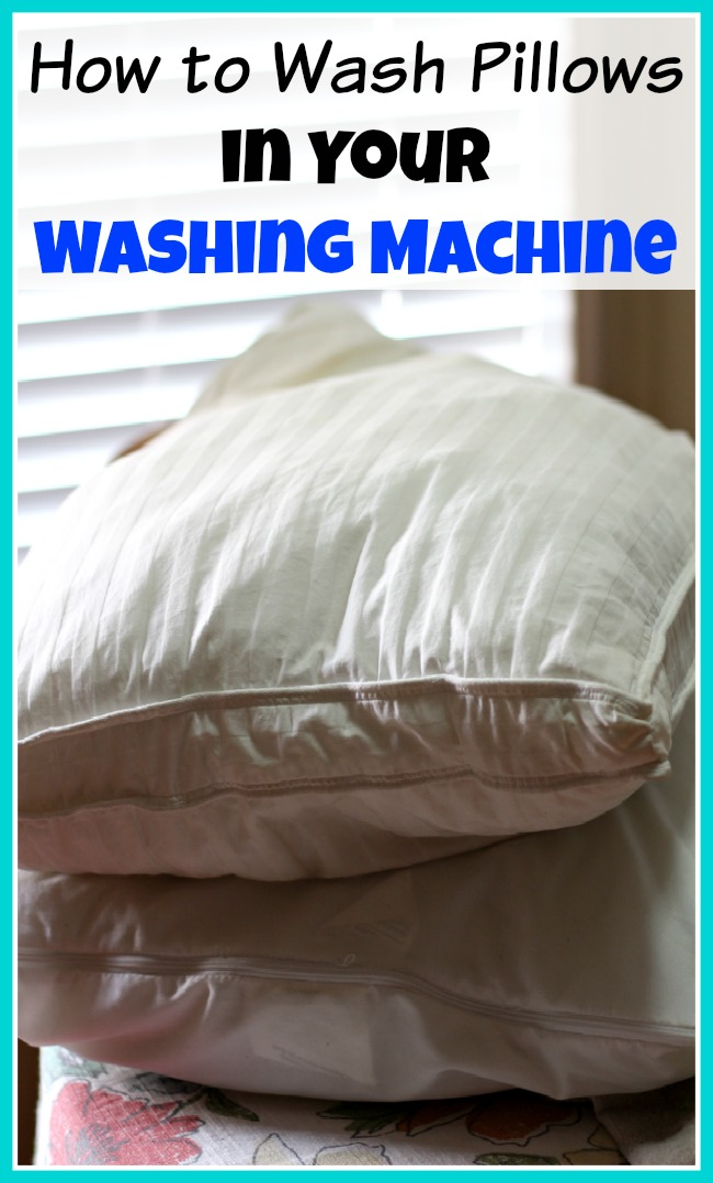 How to Wash Pillows in Your Washing Machine and Dry Them