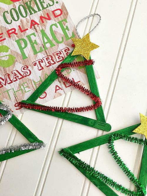 christmas ornaments popsicle sticks # 27