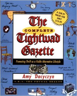The Complete Tightwad Gazette- Top 10 Frugal Living Books- Want to change your finances? Then you need to read the right books! These 10 frugal living books will help you get control of your money! These make great gifts for college students, teenagers, and anyone wanting to improve their finances! | #saveMoney #frugal #ACultivatedNest