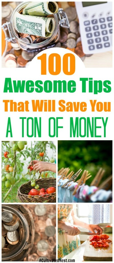 100 Tips to Help You Live Within Your Means