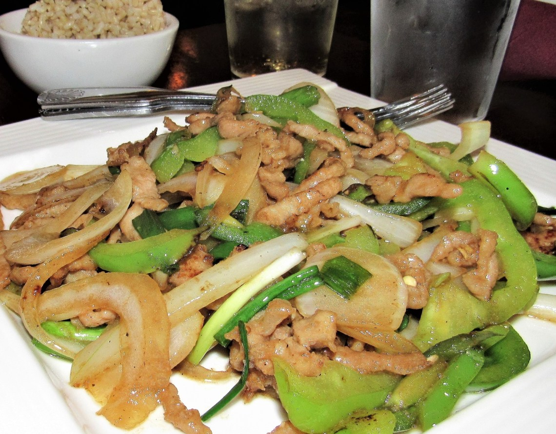 Pork Stir Fry from LuLu Asian Bistro