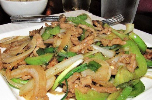 Pork Stir Fry from LuLu Asian Bistro