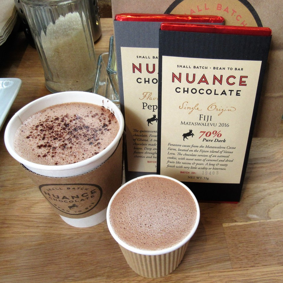 French Hot Chocolate, Sipping Chocolate and Chocolate Bars
