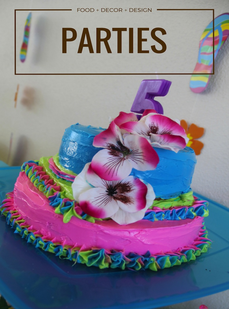 family party ideas | kids birthday parties | Acupful.com | Mandy Carter | Party designs and inspiration