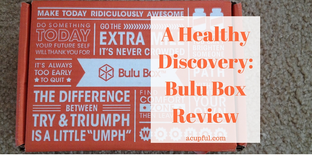 Bulu Box subscription review acupful.com