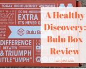 Bulu Box subscription review acupful.com