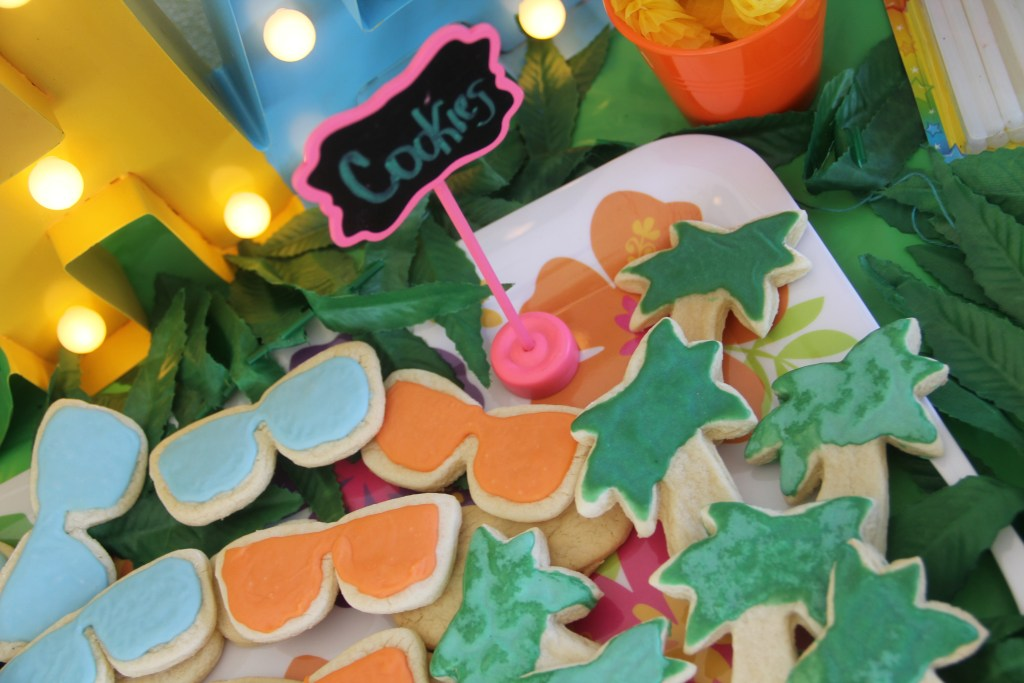 luau birthday party food ideas