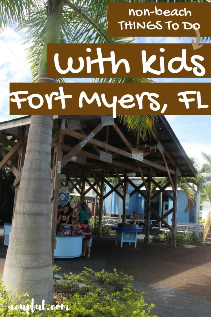 Things to do in Fort Myers with kids- a cupful of carters - mandy carter