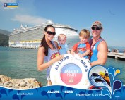 Labadee- Allure of the Seas with kids