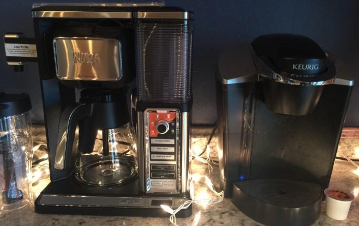 Ninja coffee system