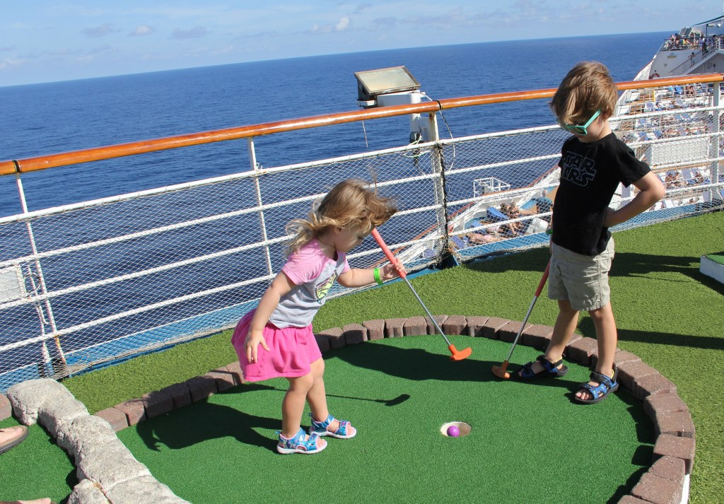 cruise with kids aboard Carnival Victory