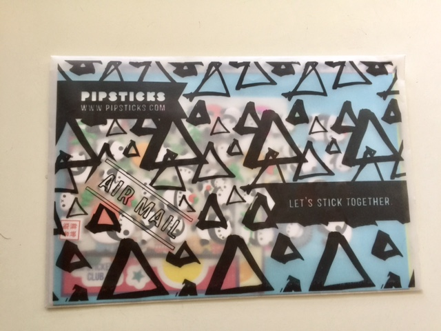 Pipsticks sticker subscription